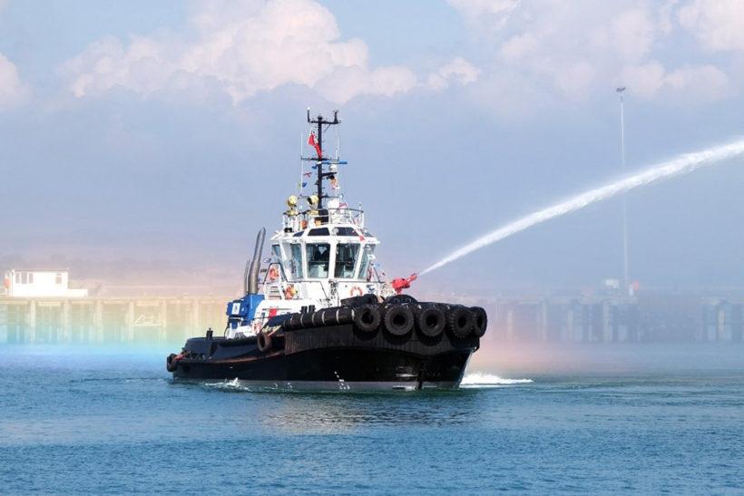 New Portland Port tug named Rupert Best
