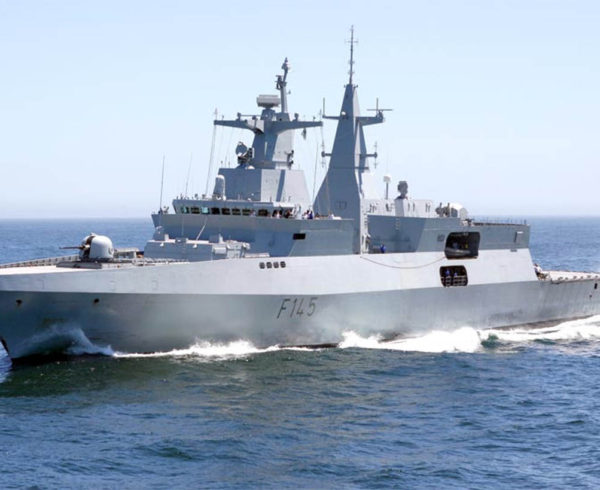 SAS Mendi on the way to full operational status