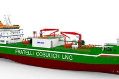 Wärtsilä to supply complete cargo handling system for new Italian LNG bunkering vessel