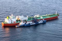 AET completes its first ever LNG bunkering in the US