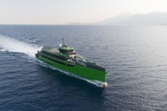 Damen's Fast Crew Supplier FCS 7011 completes sea trials and heads to Netherlands