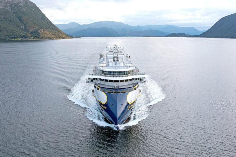 Next Lindblad polar cruise newbuild delivered from Ulstein