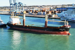 Nova Marine Carriers completes first carbon neutral Italian shortsea voyage